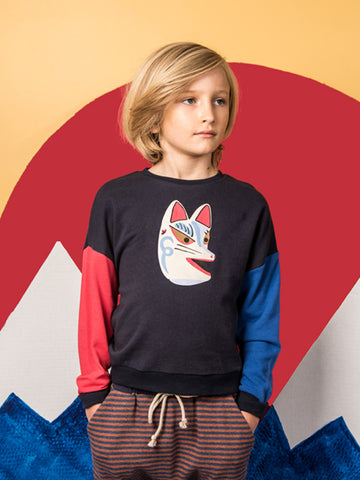 Wonder Sweatshirt - navy fox