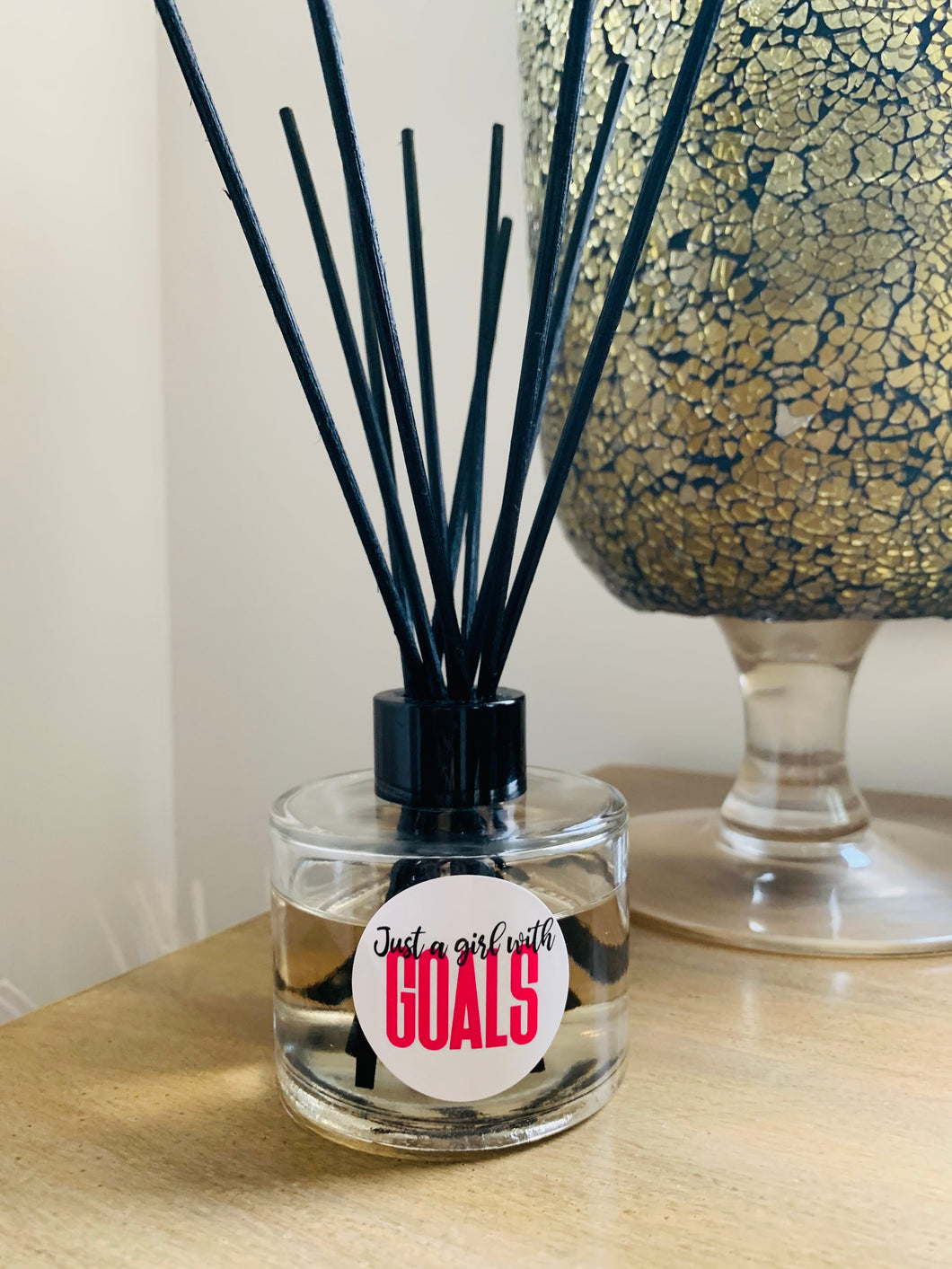 Girl with Goals Glass Diffuser