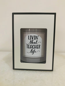 Teacher Giftset - Large Candle & Diffuser