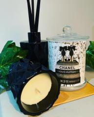 Diamond Diffuser with Diamond and Chanel candle gift trio