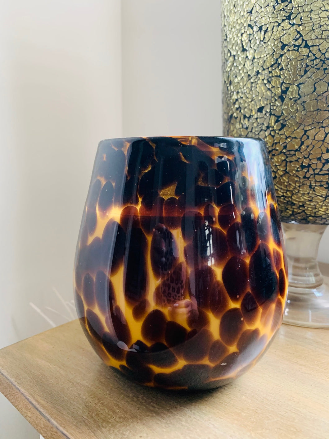 Jumbo Candle - Leopard style 1300g