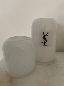 Designer Inspired Pillar look candle - Large