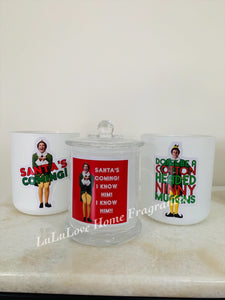 Xmas Candles - Kris Kringle ELF Style (3 versions)