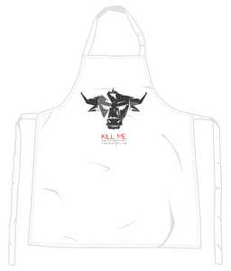 Kill me Vegan Apron 0055 - Accessories & Homeware - EchoWears T-Shirts & Accessories