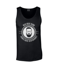 Hipster Beard Mens Tank Top T-Shirt 0008 - Clothing - EchoWears T-Shirts & Accessories