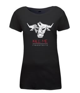 Kill Me Vegan Ladies Fitted T-shirt 0055 - Clothing - EchoWears T-Shirts & Accessories