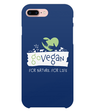Go Vegan iPhone 7 Plus Full Wrap Case 0001 - Cases - EchoWears T-Shirts & Accessories
