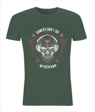 Gamers Don't Die Mens Slim Cut T-shirt 0029 - Clothing - EchoWears T-Shirts & Accessories