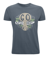 No Meat Go Vegan Mushroom Mens Vegan T-Shirt 0048 - Clothing - EchoWears T-Shirts & Accessories