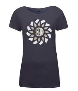 Vegan Mandala Ladies Fitted Vegan T-Shirt 0058 - Clothing - EchoWears T-Shirts & Accessories