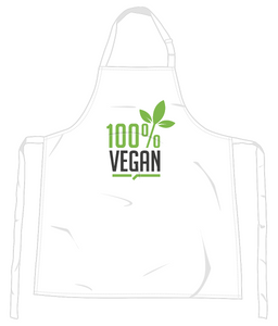 100% Vegan Apron 0061 - Accessories & Homeware - EchoWears T-Shirts & Accessories