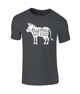 Friends Not Food Vegan Childrens T-Shirt 0057 - Clothing - EchoWears T-Shirts & Accessories