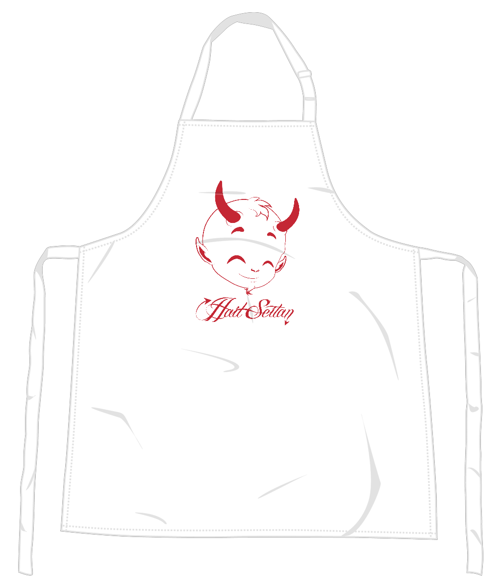 Hail Seitan Vegan Apron 0066 - Accessories & Homeware - EchoWears T-Shirts & Accessories