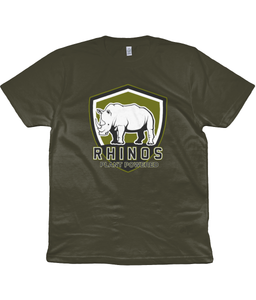 Rhino Plant Powered Men's / Ladies / Unisex Vegan T-shirt 0085 - Clothing - EchoWears T-Shirts & Accessories