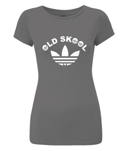 Old Skool Rave Ladies Slim-Fit T-Shirt 0079 - Clothing - EchoWears T-Shirts & Accessories