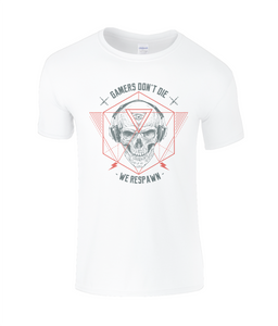 Gamers Don't Die Childrens T-Shirt 0029 - Clothing - EchoWears T-Shirts & Accessories
