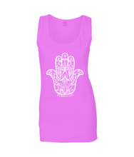 Amulet Ladies Fashion Tank Top T-Shirt 0024 - Clothing - EchoWears T-Shirts & Accessories
