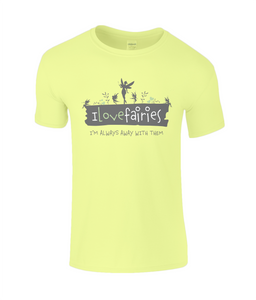 I Love Fairies Childrens T-Shirt 0030 - Clothing - EchoWears T-Shirts & Accessories