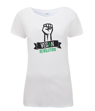 Vegan Revolution Ladies Fitted T-shirt 0067 - Clothing - EchoWears T-Shirts & Accessories