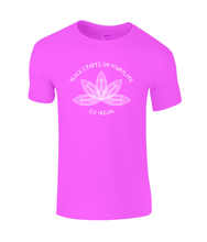 Peace Starts On Your Plate Childrens Vegan T-shirt 0071 - Clothing - EchoWears T-Shirts & Accessories