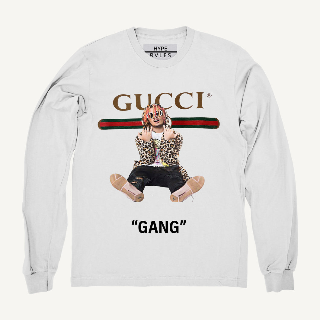 Sweatshirt- Lil Gang white