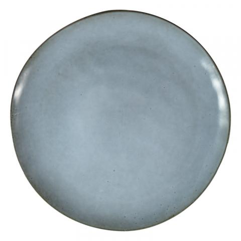 Casa Regalo - Side/ Dessert Plate - Blue/Grey