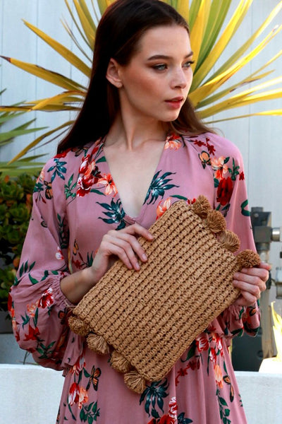 Harlow Clutch - Natural