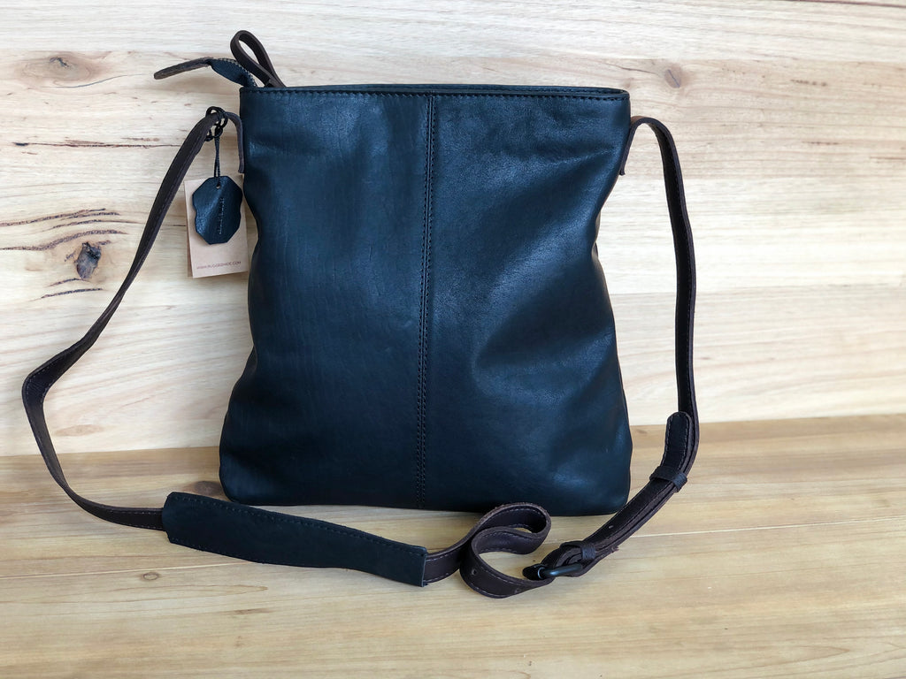 Ella Leather Cross Body - Black