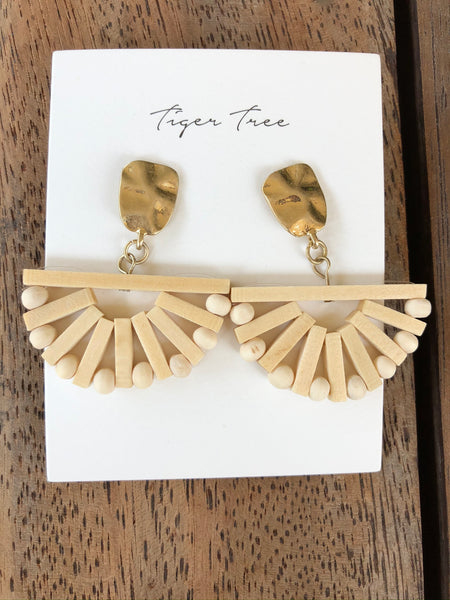 Tiger tree - Ark Fan Earrings.