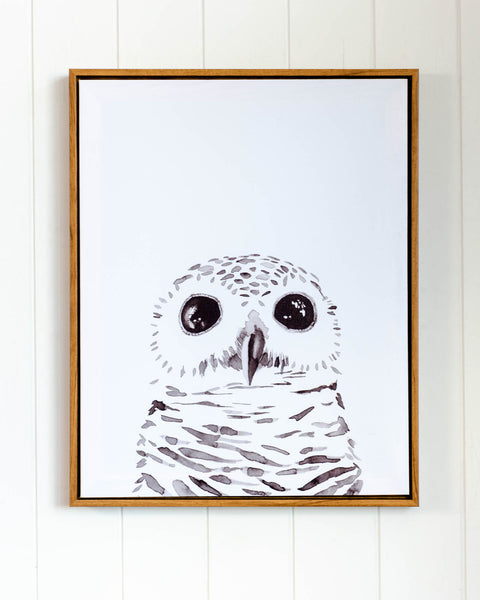 Artist Lab - Maria Harding - Harper the Owl Framed Canvas