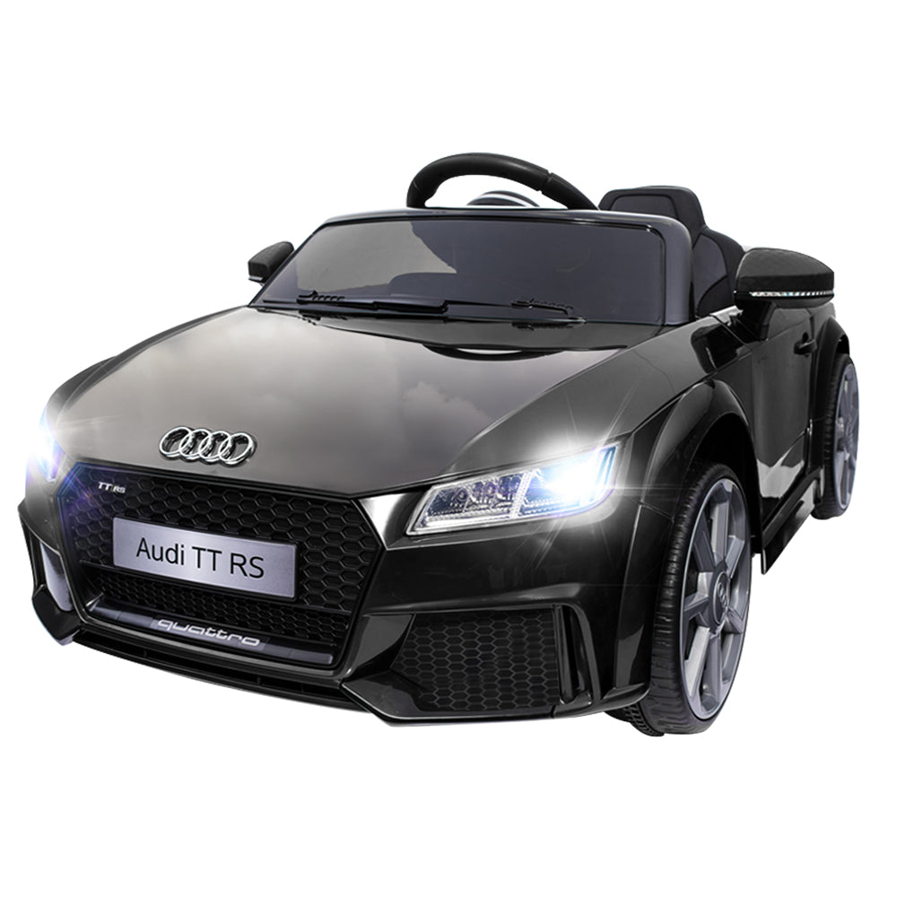 Audi Licensed TT RS Kids Ride On Electric Car - Black