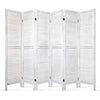 6 Panel Room Divider / Privacy Screen - White
