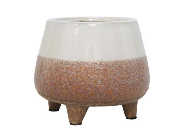 Sumit Ceramic Planter - Stone