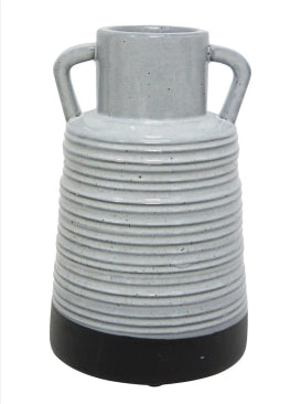 Mecca Ceramic Vase - Black & White - Medium