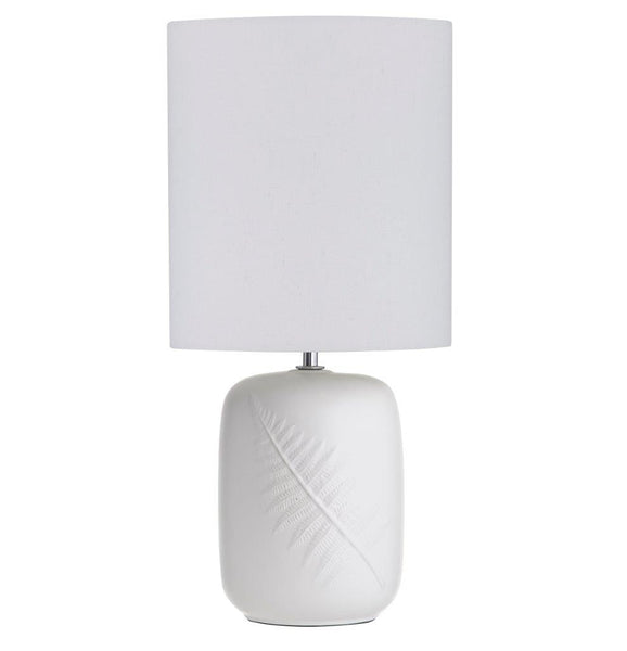Fern Table Lamp - White