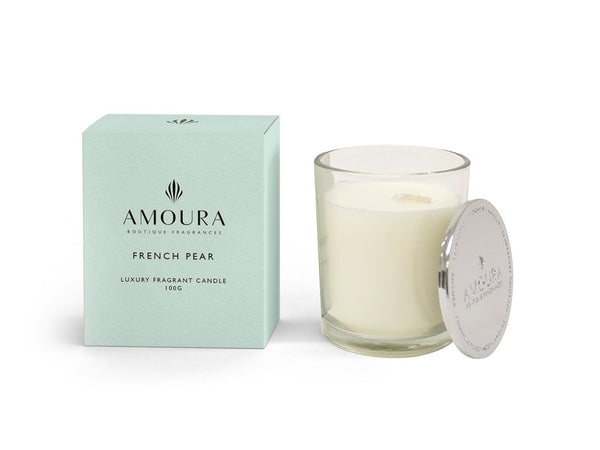 Amoura Candle - French Pear