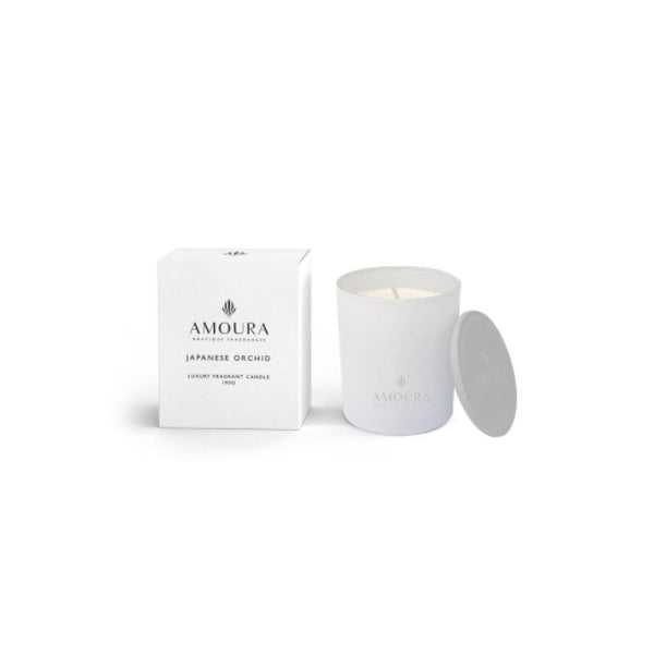 Amoura Candle - Japanese orchid