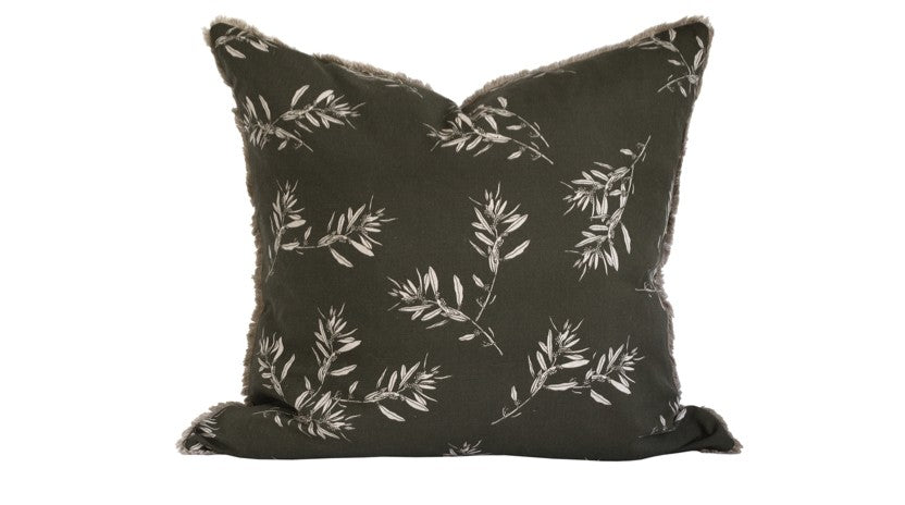 Cushion Olive Grove Olive Green