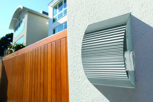Onda stainless steel letterbox