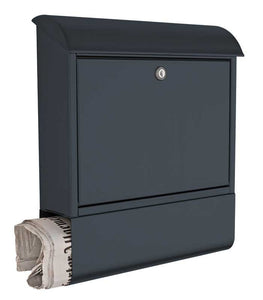 Briefkasten Anthracite Grey letterbox