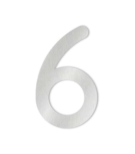 MAX Stainless steel house numbers 0-9 and letters a-d
