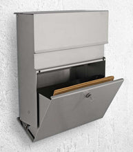 Calmo stainless steel letterbox