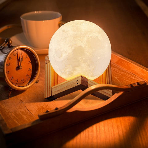 Enchanting Lunar Moon Night Light