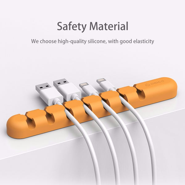 Cable Organizer Silicone Wire Holder Clip