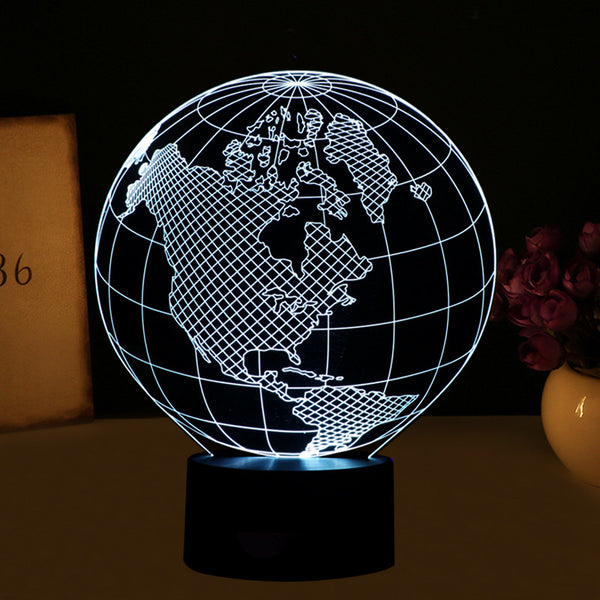 3D LED Night Lights