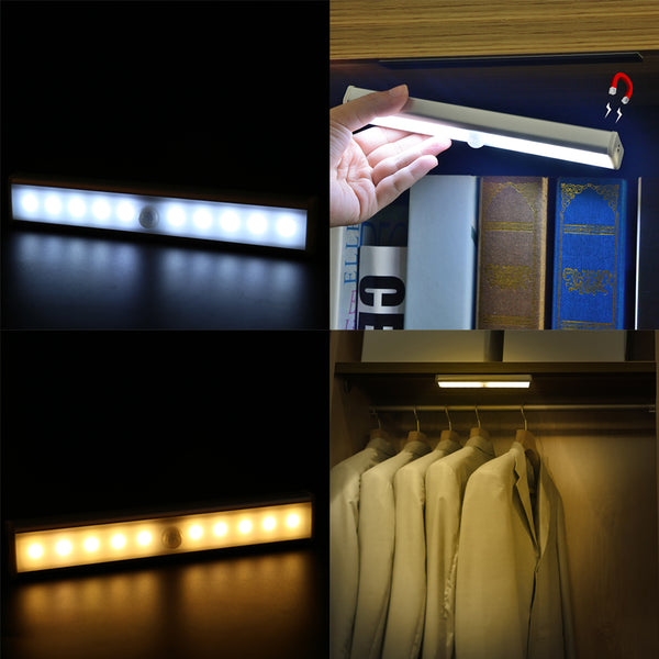 LED PIR Motion Sensor Night Light