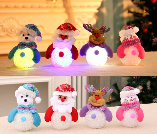 EVA Christmas LED Light Lamp Home Decoration Christmas Tree Pendant