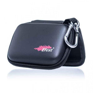 EFEST ZIPPER CASE 3 X 18650, 2 X 20700, 2 X 21700, 2 X 26650 COVERED