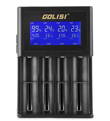 GOLISI S4 4 BAY BATTERY CHARGER