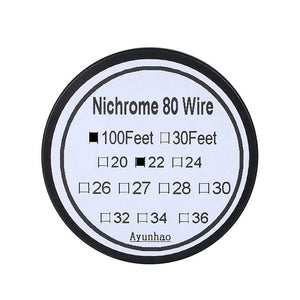 NI80 WIRE VARIOUS TYPES (100FT)